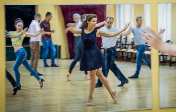 Your first tango class in Kiev