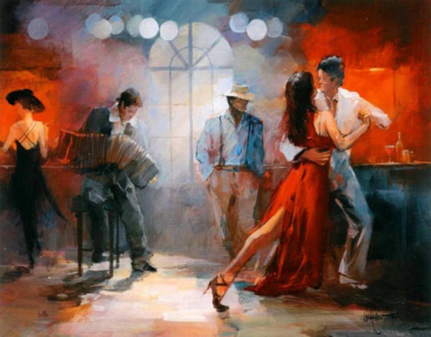 Tango. Willem Haenraets