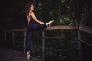 Алина Олейник, балерина