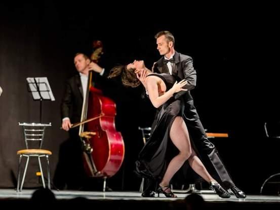 "Шоу Tango de Verdad. Алина Олейник и Владимир Гринченко, клуб ""Viva el Tango"""